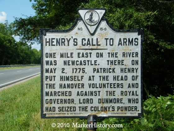 henry's call to arms